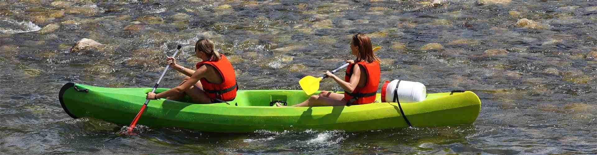 kayaks en centrosdeportes de El Ejido