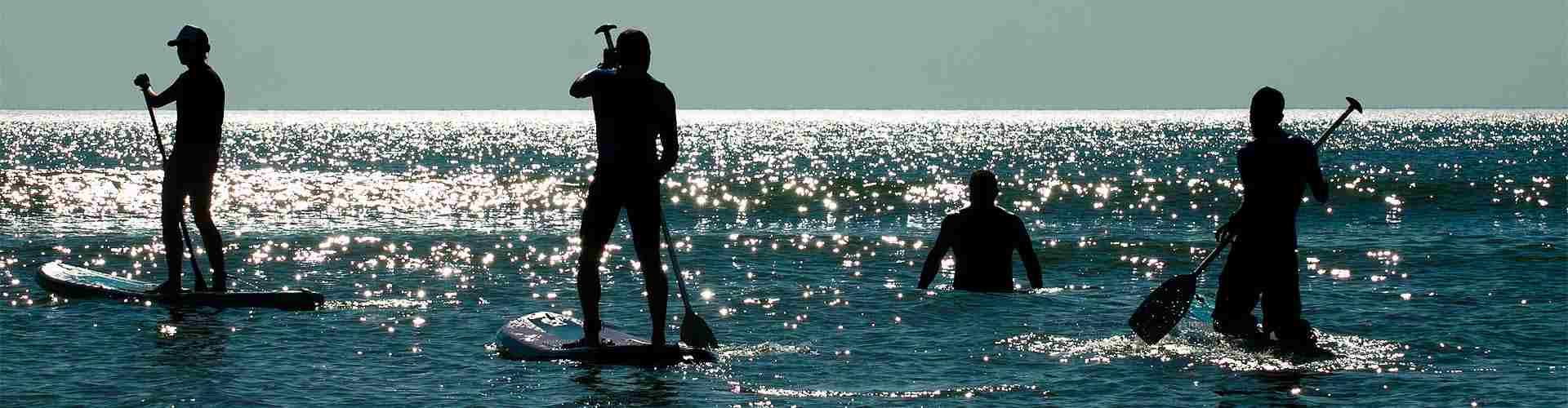 paddle surf en centrosdeportes de Castelldefels