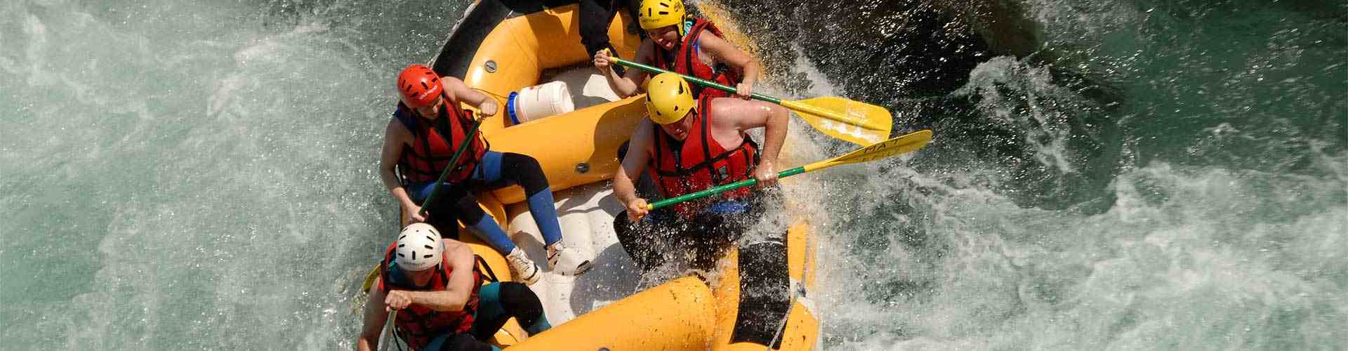 Rafting en Barbolla