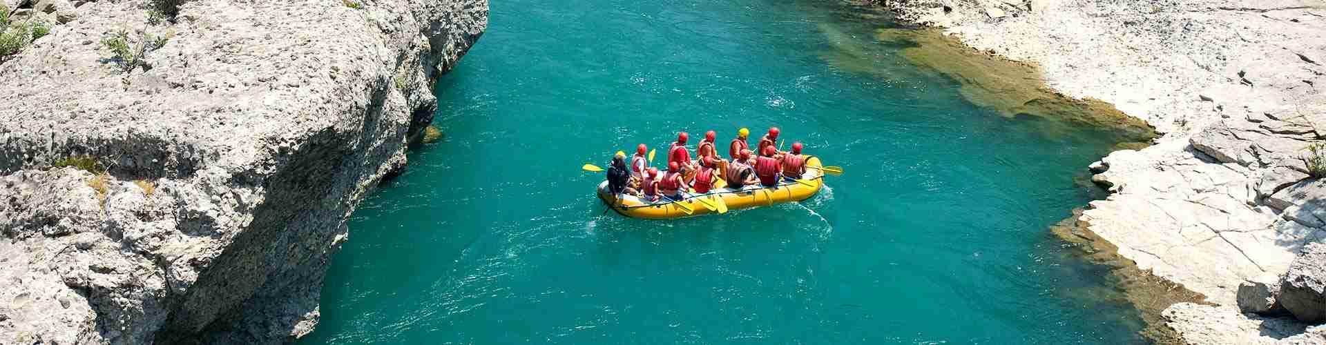 rafting en centrosdeportes de Aragón