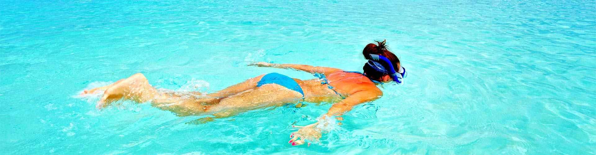 snorkel en centrosdeportes de Tossa de Mar
