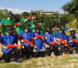 grupo paintball infantil
