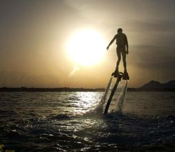 Lassdive Flyboard Sunset