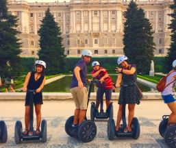 Segway Tour Madrid. EnSegway Empresa Segway Tour Madrid. EnSegway